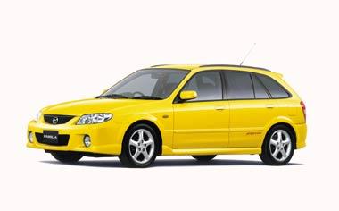 Mazda Familia S-Wagon 1