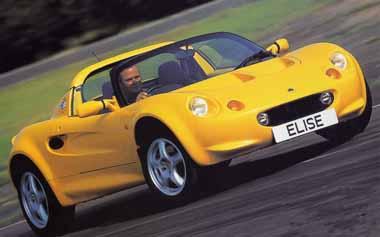 Lotus Elise 111 RHD MT (2000)