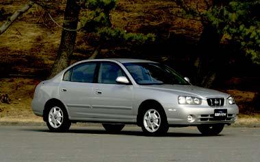 Hyundai Elantra 1.8 GL RHD AT (2001)
