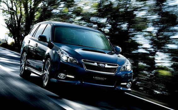 Subaru Legacy Touring Wagon 1
