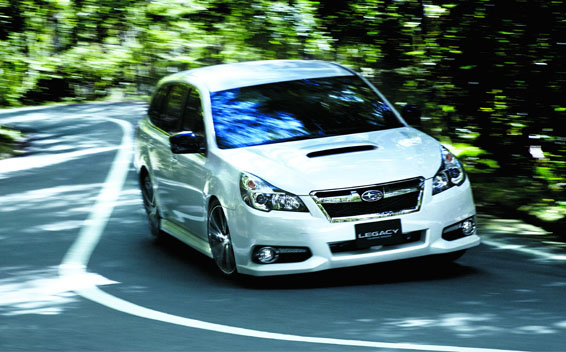 Subaru Legacy Touring Wagon 11