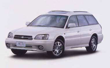 Subaru Legacy Touring Wagon BLITZEN 2001MODEL 4WD MT (2000)