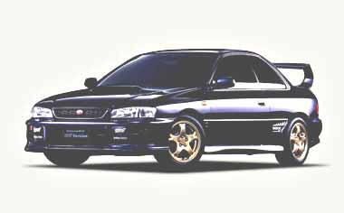 Subaru Impreza Hardtop Sedan 1