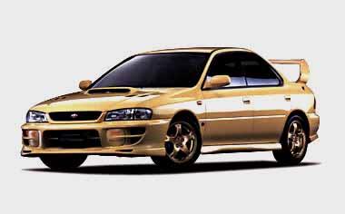 Subaru Impreza Hardtop Sedan 3
