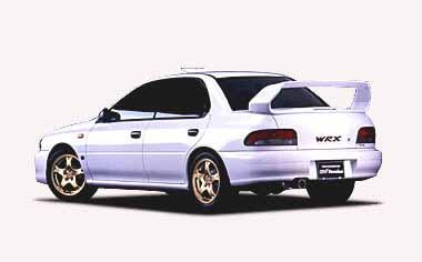 Subaru Impreza Hardtop Sedan 4
