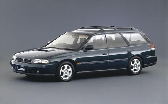 Subaru Legacy Touring Wagon TS 4WD MT 2.0 (1993)