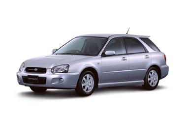 Subaru Impreza Sportswagon 15I 4WD MT 1.5 (2002)