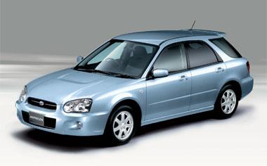 Subaru Impreza Sportswagon WRX 4WD AT 2.0 (2003)