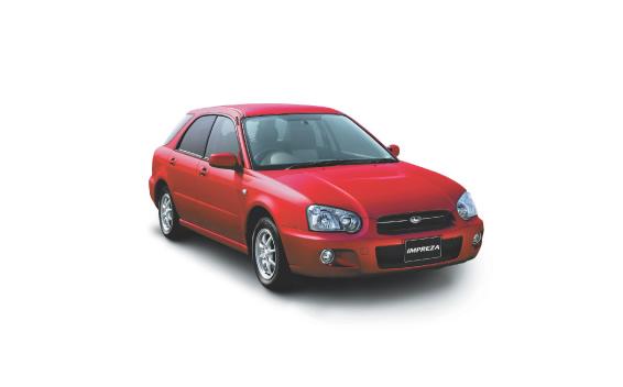 Subaru Impreza Sportswagon 15I LIMITED 4WD MT 1.5 (2004)