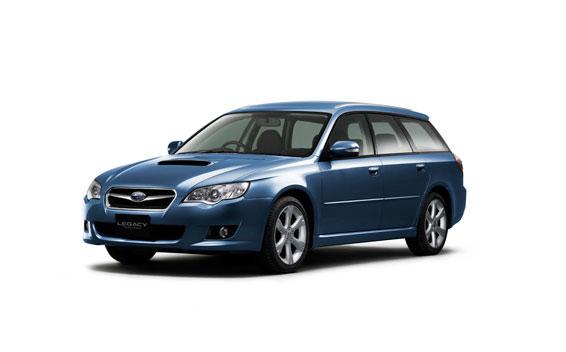 Subaru Legacy Touring Wagon 2.0GT MT 2.0 (2006)