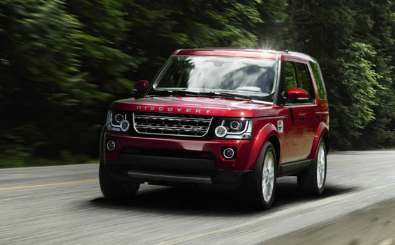 Land Rover Discovery 4 HSE RHD 4WD AT 3.0 (2014)