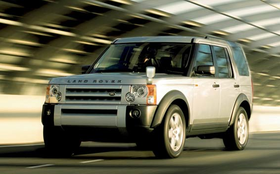 Land Rover Discovery 3 S RHD 4WD AT 4.0 (2007)