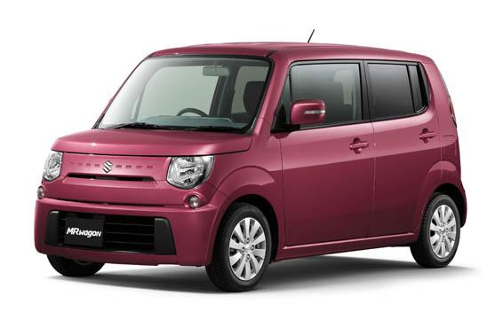 Suzuki MR Wagon X 4WD CVT 0.66 (2013)