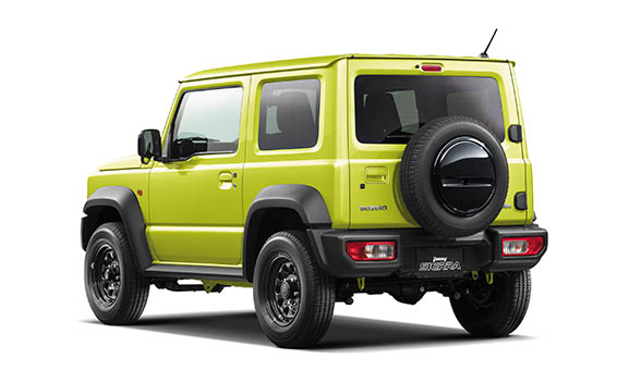 Suzuki Jimny Sierra 10