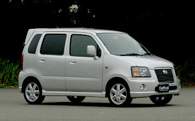 Suzuki Wagon R Solio X 4WD AT 1.0 (2000)