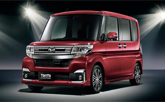 Daihatsu Tanto Custom 4