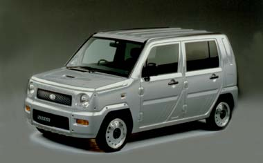 Daihatsu Naked G B PACKAGE 4WD AT (2001)