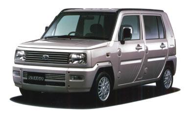 Daihatsu Naked TURBO G MT 0.66 (2002)