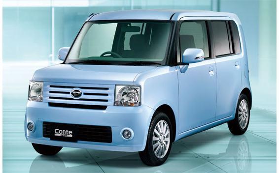 Daihatsu Move Conte X 4WD CVT 0.66 (2008)