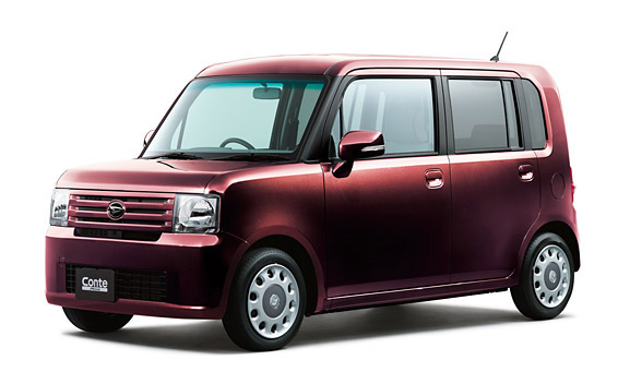 Daihatsu Move Conte X +S CVT 0.66 (2010)