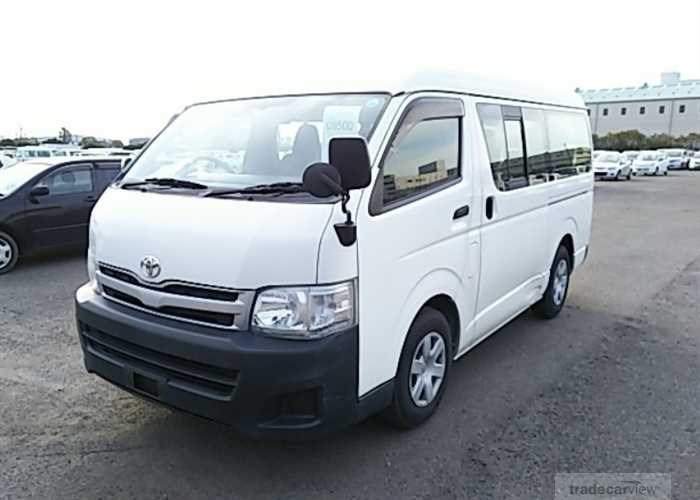 2012 Toyota Hiace Wagon TRH214W Excellent Condition