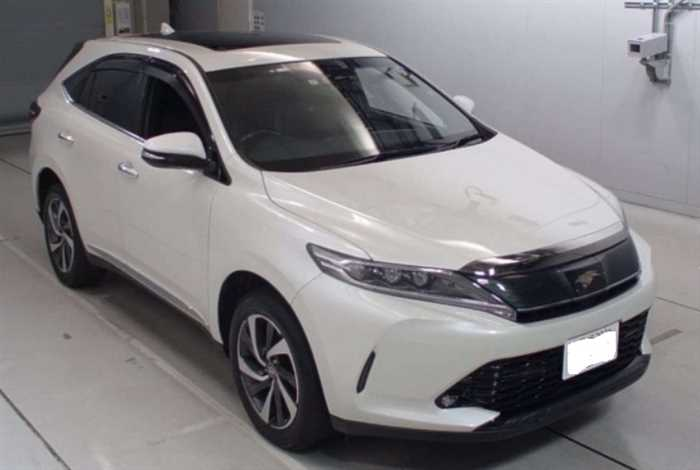 2017 Toyota Harrier