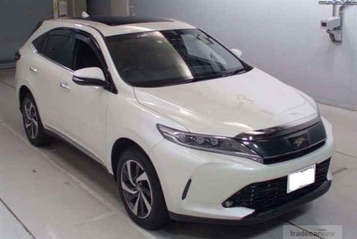 2017 Toyota Harrier ASU60W