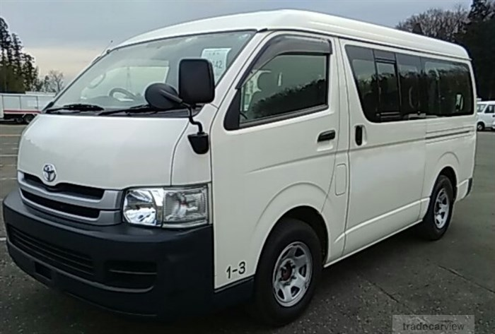 2010 Toyota Hiace Wagon TRH214W Excellent Condition