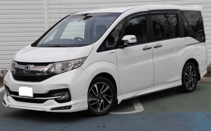 2015 Honda Step WGN
