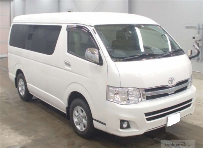2012 Toyota Hiace Wagon TRH219W Excellent Condition