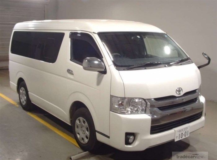 2017 Toyota Hiace Wagon TRH219W Excellent Condition