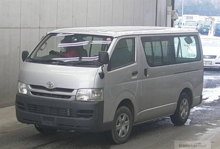 2008 Toyota Hiace Van KDH206V Excellent Condition