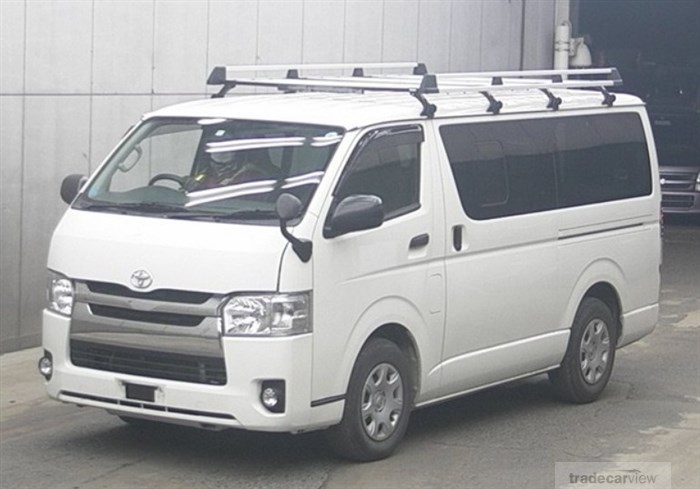 2014 Toyota Hiace Van KDH201V Excellent Condition