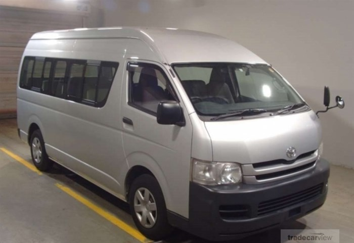 2009 Toyota Hiace Commuter TRH223B Excellent Condition