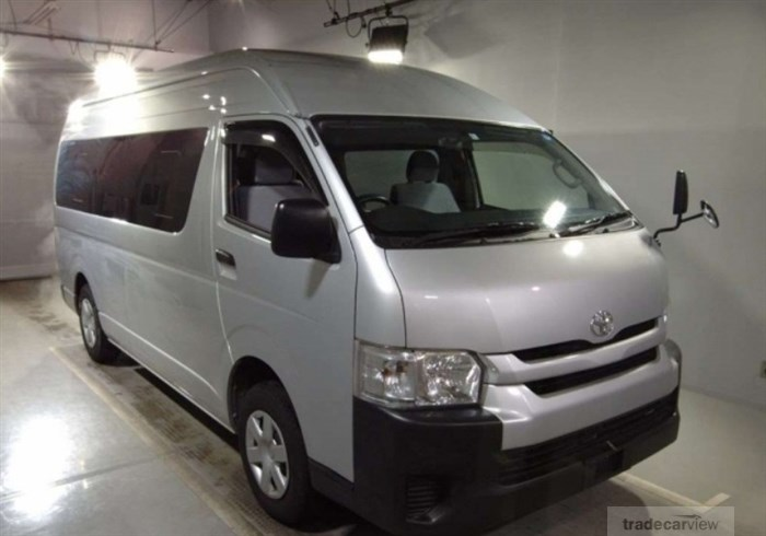 2016 Toyota Hiace Commuter TRH228B Excellent Condition