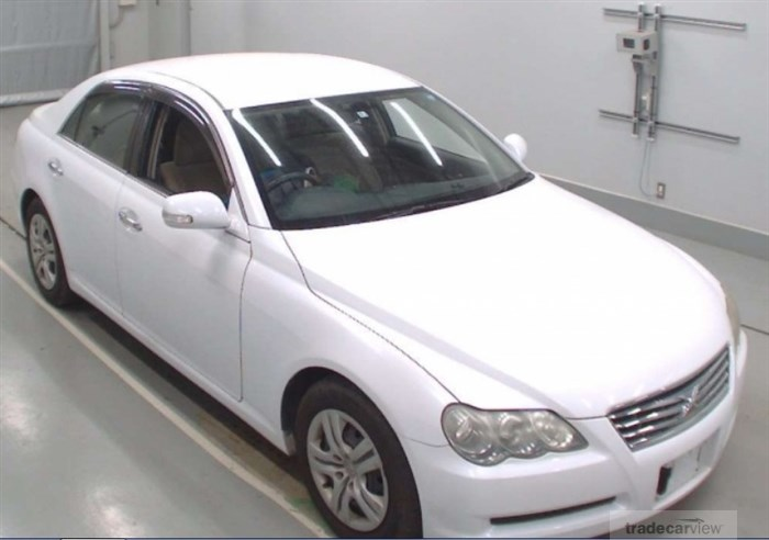 2008 Toyota Mark X GRX120 Excellent Condition