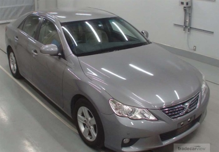 2010 Toyota Mark X GRX130 Excellent Condition