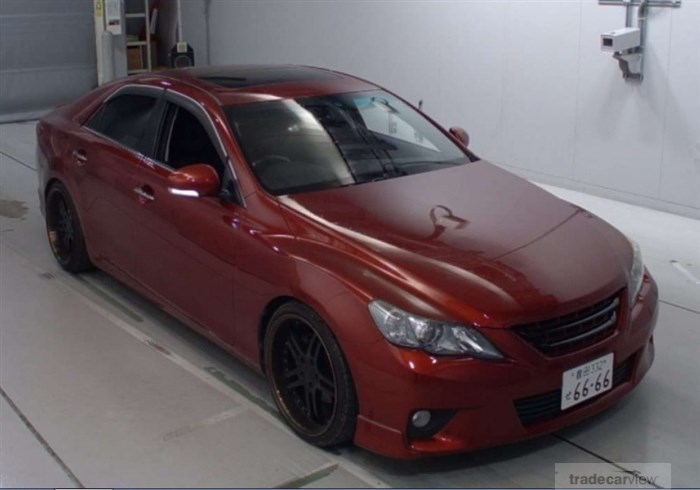2011 Toyota Mark X GRX130 Excellent Condition