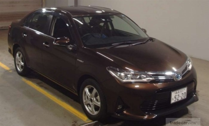 2017 Toyota Corolla Axio NKE165 Excellent Condition