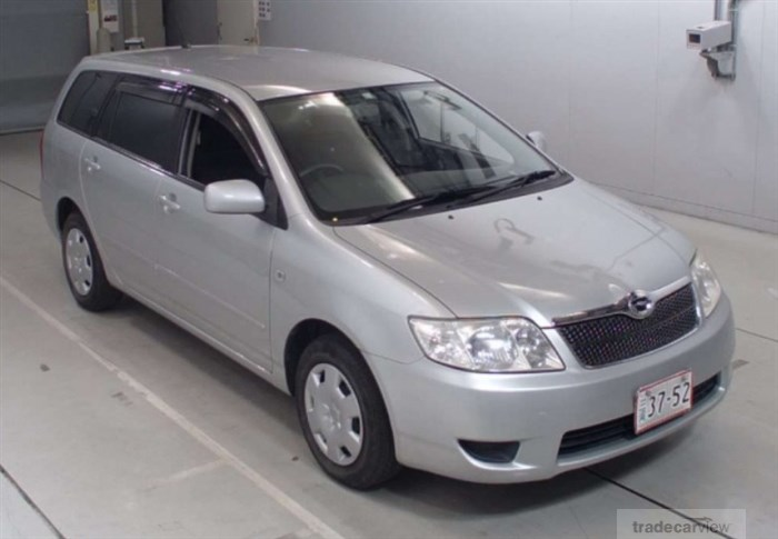 2005 Toyota Corolla Fielder NZE121G Excellent Condition