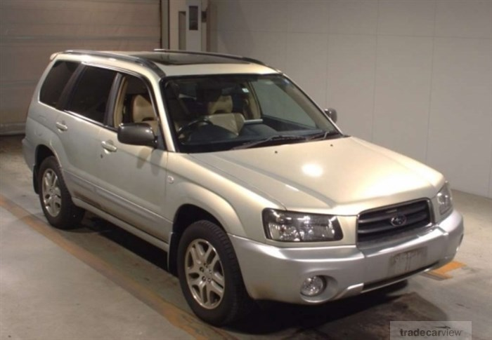 2005 Subaru Forester SG5 Excellent Condition