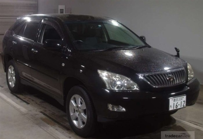 2011 Toyota Harrier ACU30W Excellent Condition
