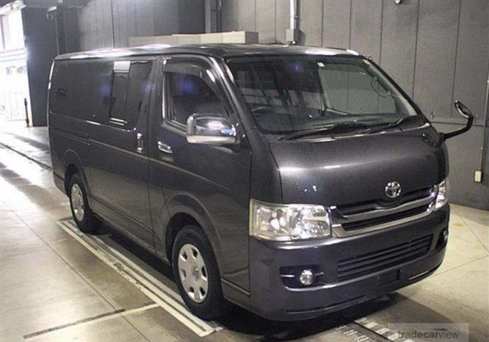 2008 Toyota Hiace Van KDH201V Excellent Condition
