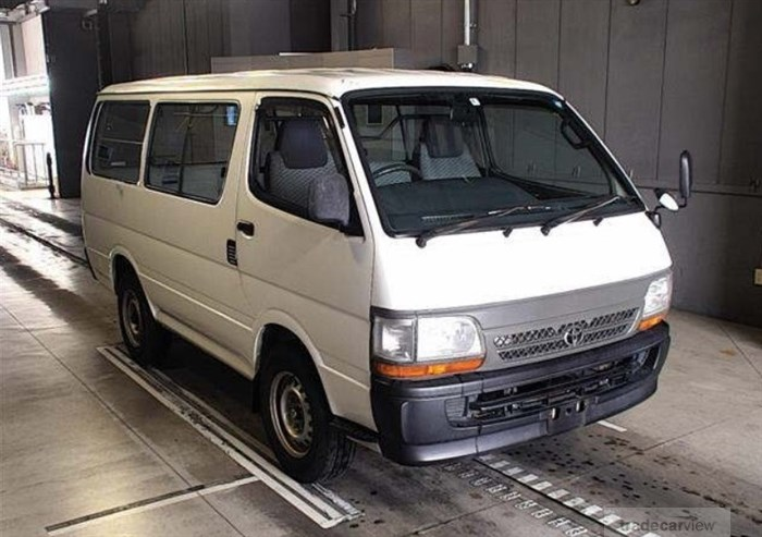 2000 Toyota Hiace Van LH162V Excellent Condition