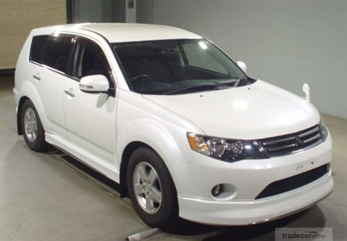 2012 Mitsubishi Outlander CW4W Excellent Condition