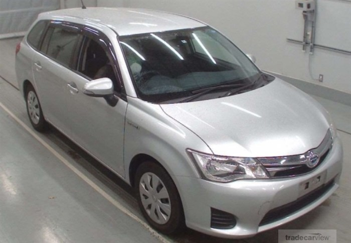 2014 Toyota Corolla Fielder NKE165G Excellent Condition