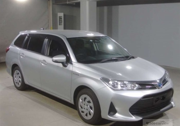 2018 Toyota Corolla Fielder NKE165G Excellent Condition