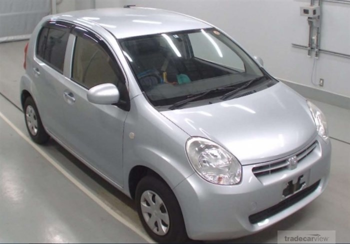 2013 Toyota Passo NGC30 Excellent Condition