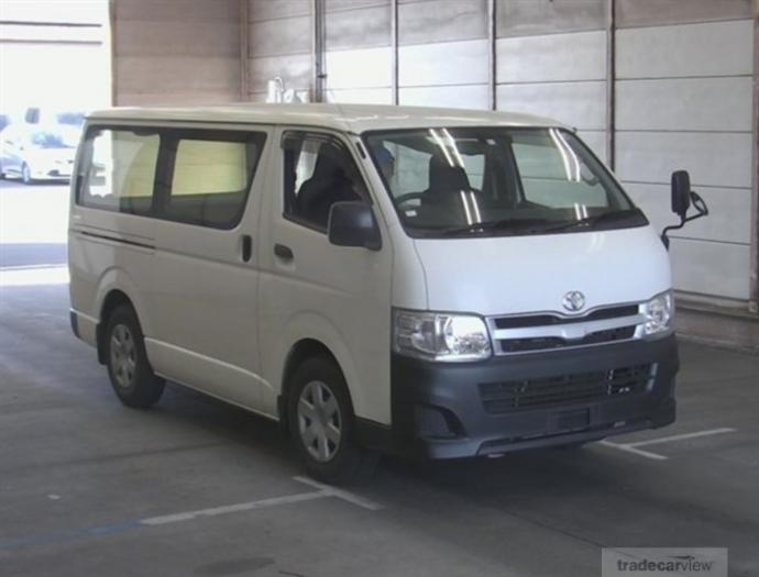 2013 Toyota Hiace Van KDH201V Excellent Condition