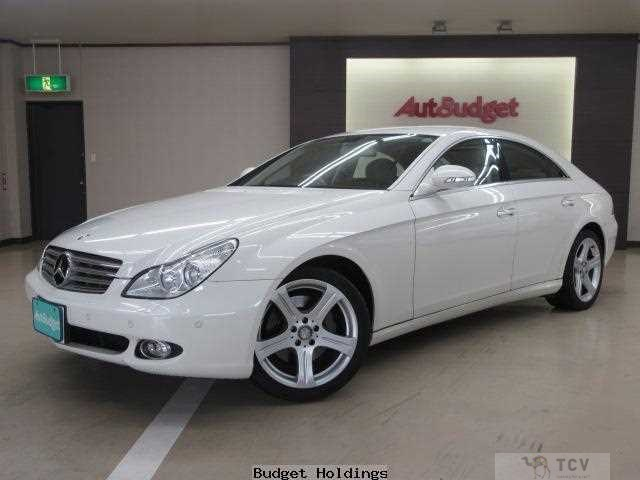 2008 Mercedes-Benz Cls-Class DBA-219356C CLS350, 18AW, Leather seats, Grade4.5